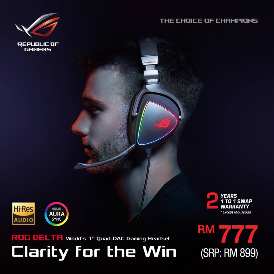Save Up To RM600 On ROG RTX Graphics Card With Their Spring Promotion 24