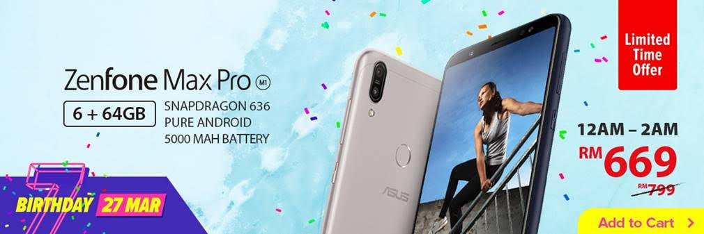 Get Your ASUS Smartphones And Laptops This Lazada 7th Birthday Promo Sales 29