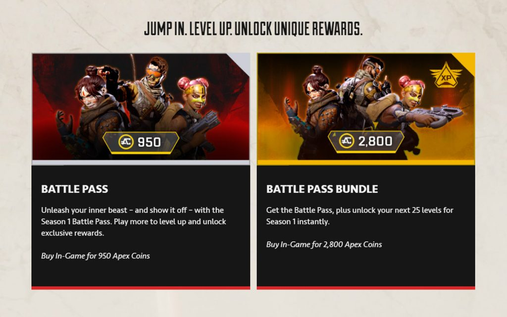 Apex Legends Season 1 Battle Is Now Out 27