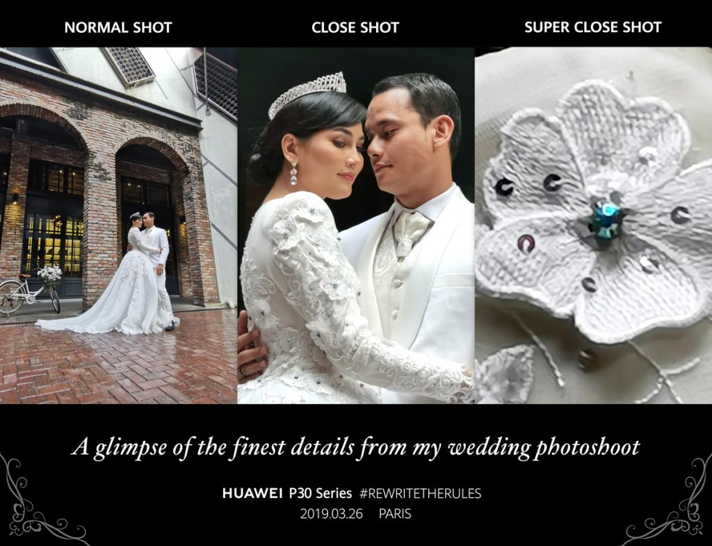 HUAWEI P30 Showcases Zoom Capabilities At Fasha Sandha & Aidil Aziz' Wedding 19