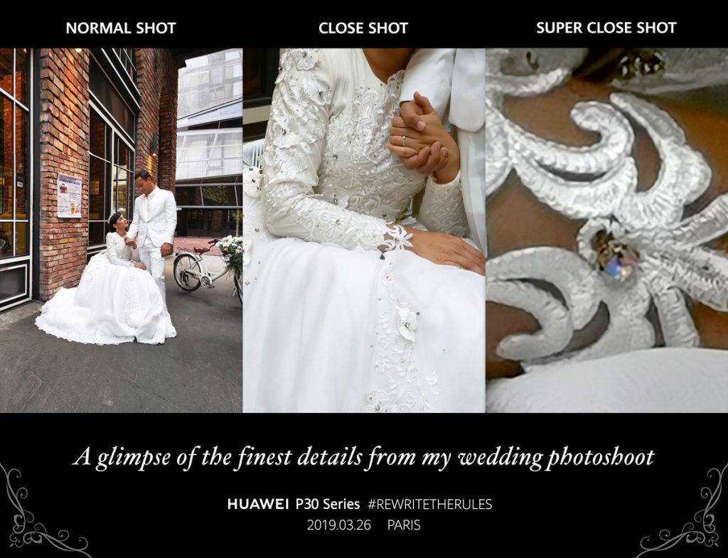 HUAWEI P30 Showcases Zoom Capabilities At Fasha Sandha & Aidil Aziz' Wedding 20
