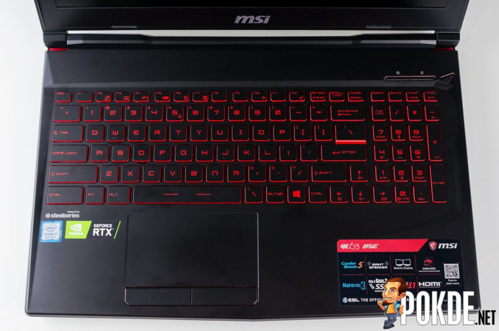 MSI GL63 8SE Review — an affordable GeForce RTX gaming notebook? 32