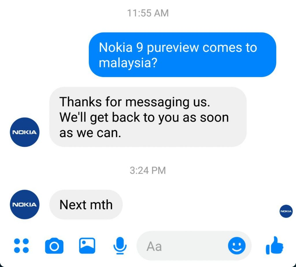 Retailer revealed Nokia 9 Pureview's Malaysian Launch Date 17