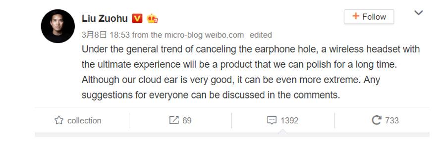 CEO Of OnePlus Says Exclusion Of Headphone Jack Will Hasten Wireless Headphone's Development 21