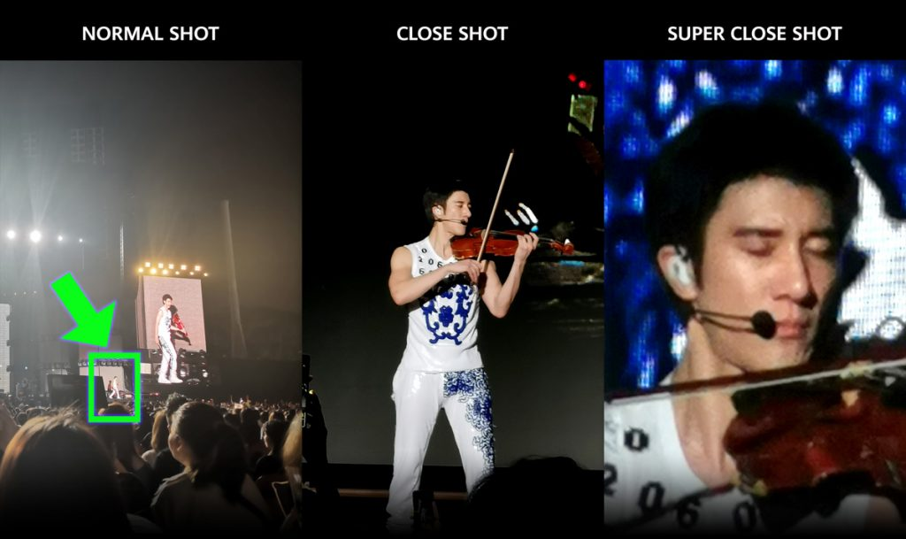 Huawei P30 camera captures Wang Lee Hom concert details like no other! 26