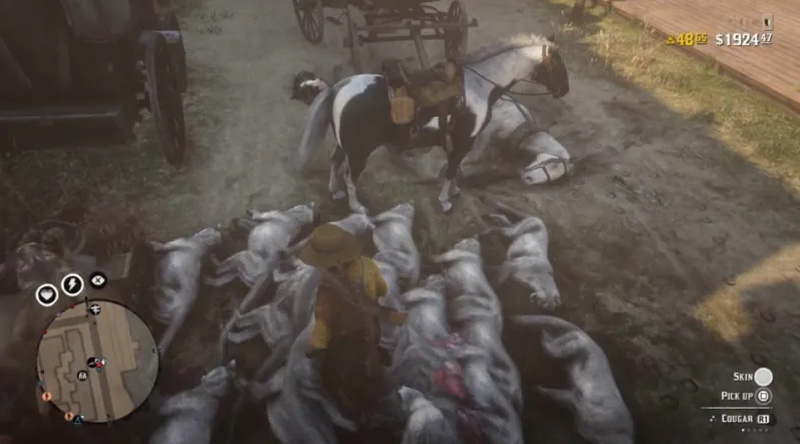 Players Exploit Red Dead Online By Cloning Cougars For Quick Cash 27