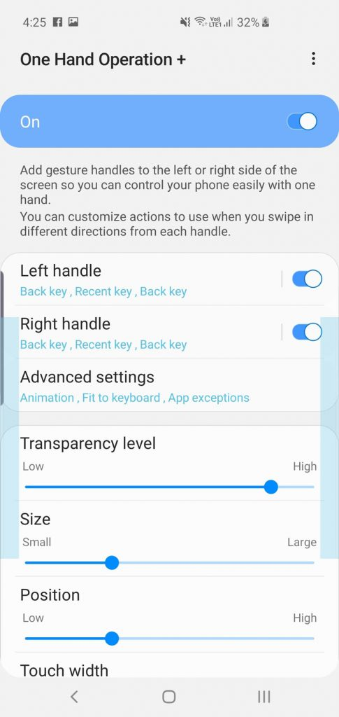 Samsung Launches New One Hand Operation+ App 27