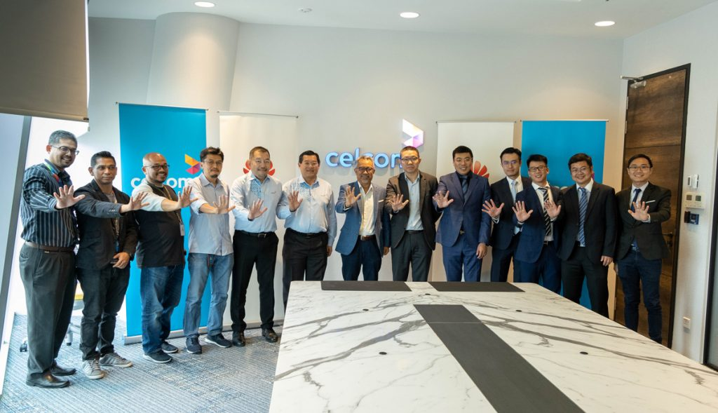 Celcom Partners With HUAWEI In Creating 5G Innovation Hub 20