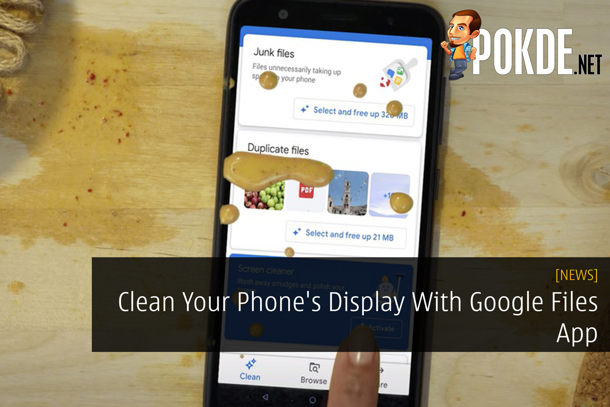 d952be1f002287 Clean Your Phone's Display With Google Files App – Pokde