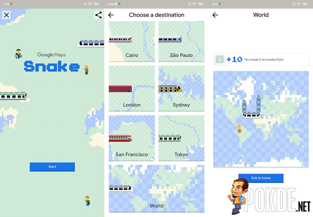 Check out Google Maps' April Fool's Easter egg! 24