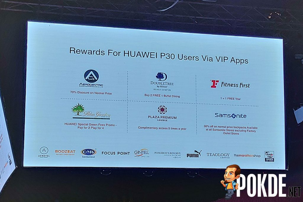 The HUAWEI P30 and HUAWEI P30 Pro will be offered with an exclusive bundle in Malaysia! 25