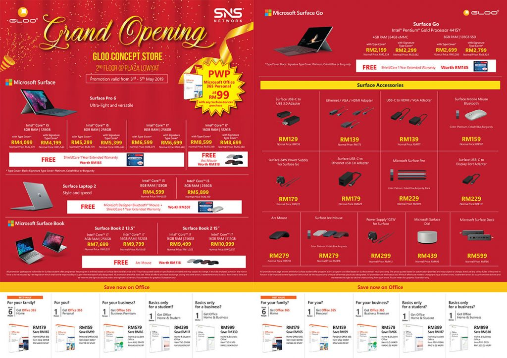 Get up to 95% off gadgets at the Grand Opening of GLOO Concept Store! 31