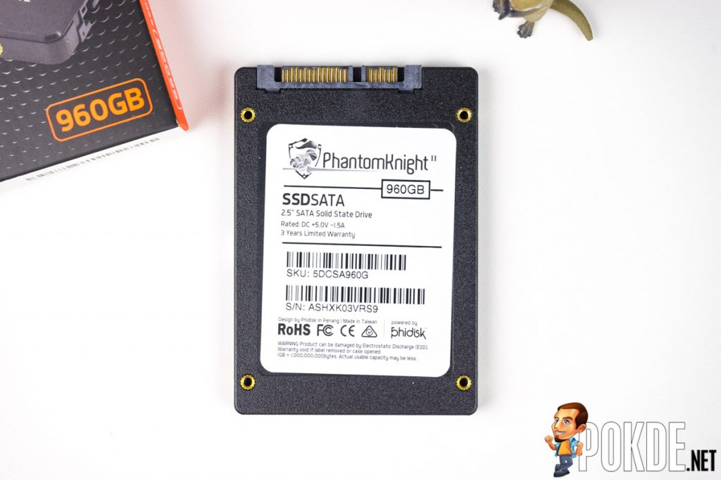 Phidisk PhantomKnight 960GB SATA SSD review — affordable SSDs have improved by leaps and bounds! 28