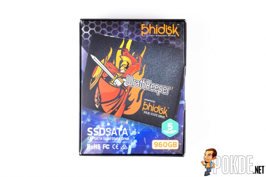Phidisk WrathKeeper 960GB SATA SSD review — 3D TLC NAND for everyone! 23