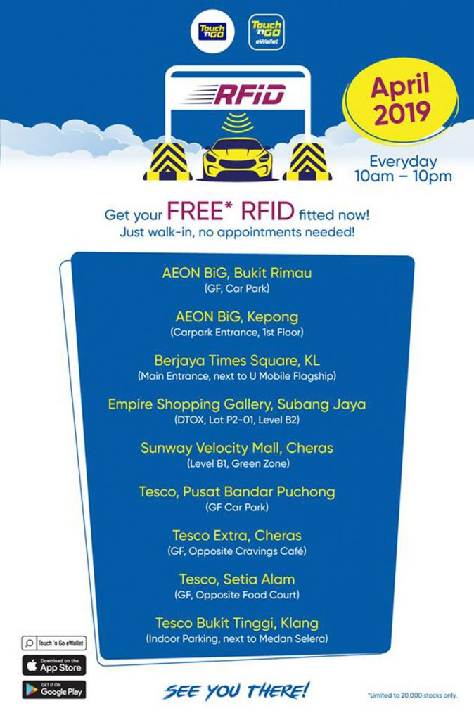 Touch 'n Go Is Offering Free RFID Installation This Whole Month 24