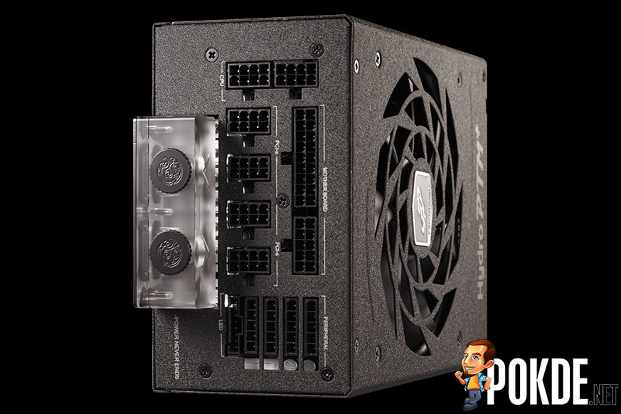 FSP Hydro PTM+ 850W is a liquid-cooled 1000W PSU 20