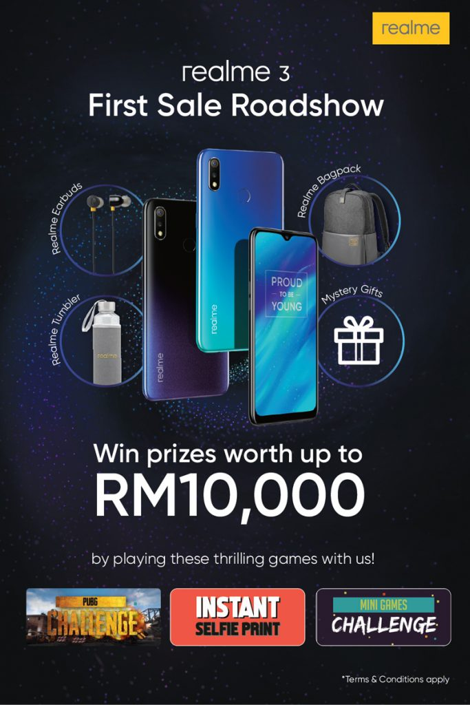 Win Prizes Worth More Than RM10,000 At realme 3's First Sale Roadshow 23