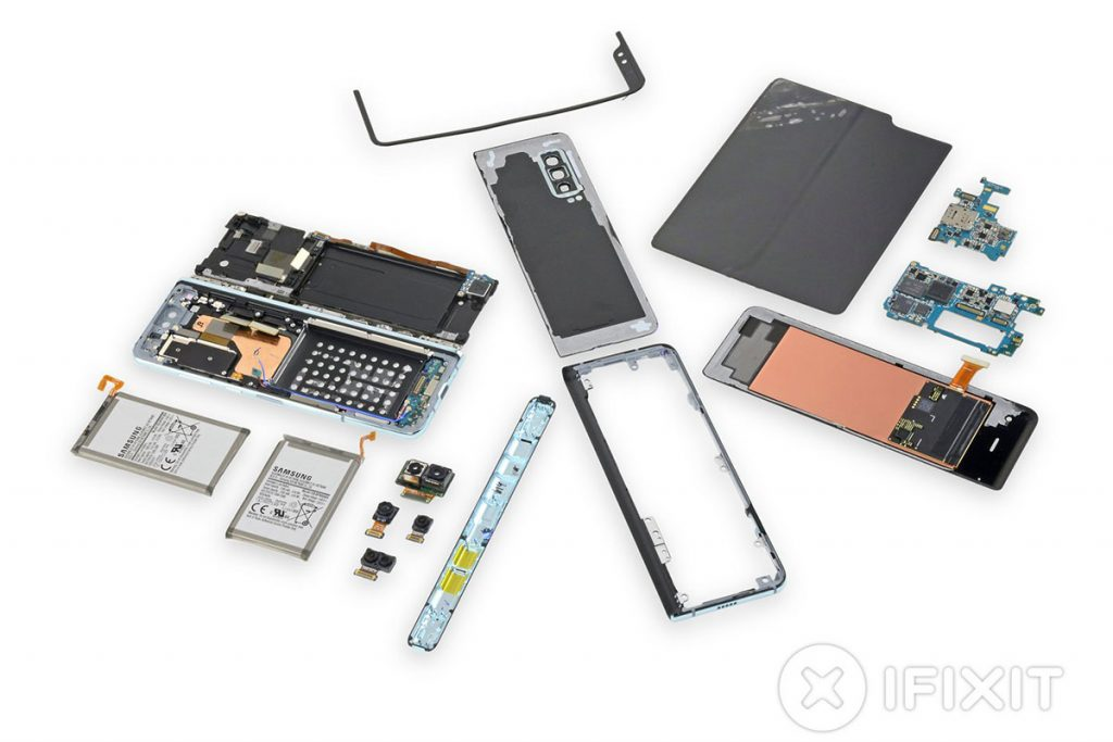 Samsung forced iFixit to remove their Samsung Galaxy Fold tear down 23
