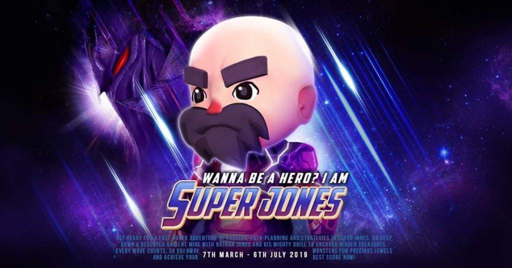 Avengers: Endgame-themed poster