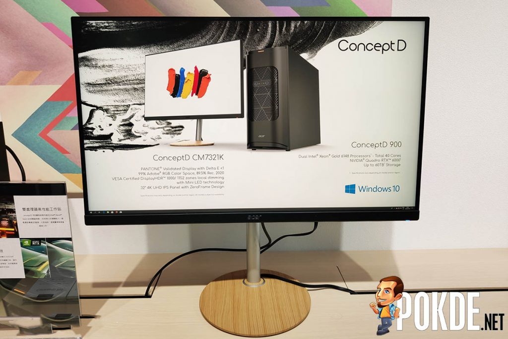"""[Computex 2019] Acer ConceptD lineup showcased — gives """"wooden PC"""" a new take 31"""