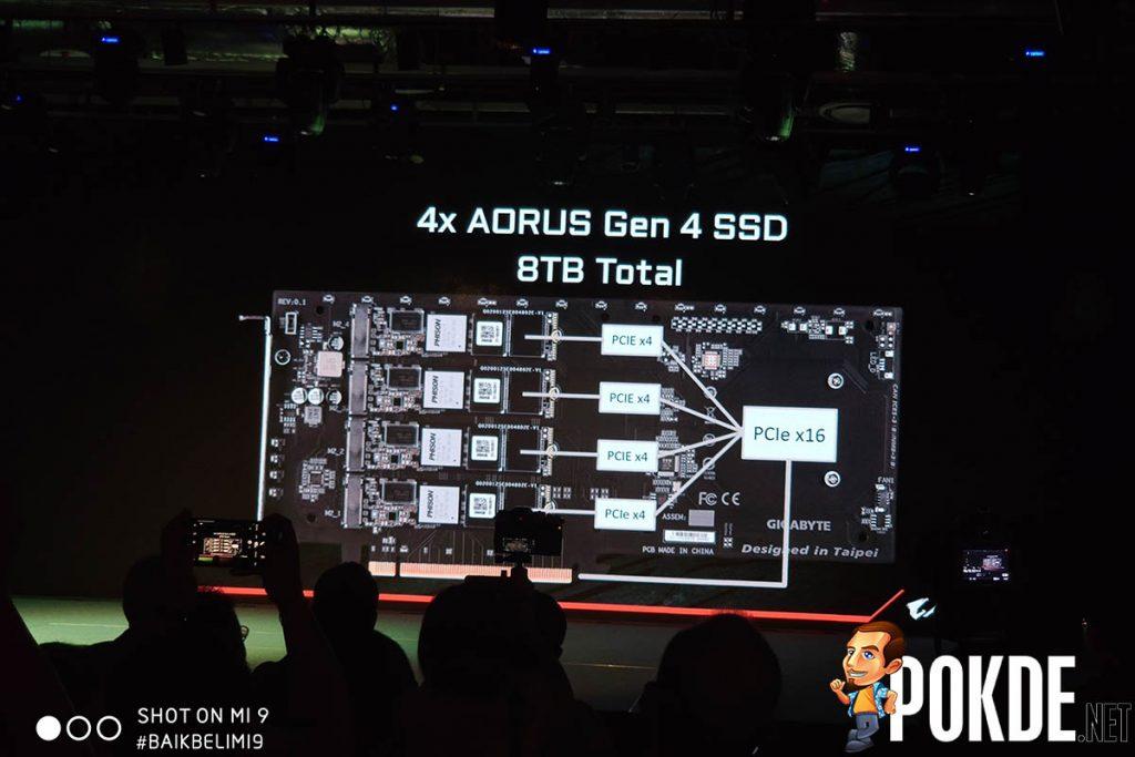 [Computex 2019] GIGABYTE unveils true 16-phase AMD X570 motherboard, PCIe 4.0 SSDs 27