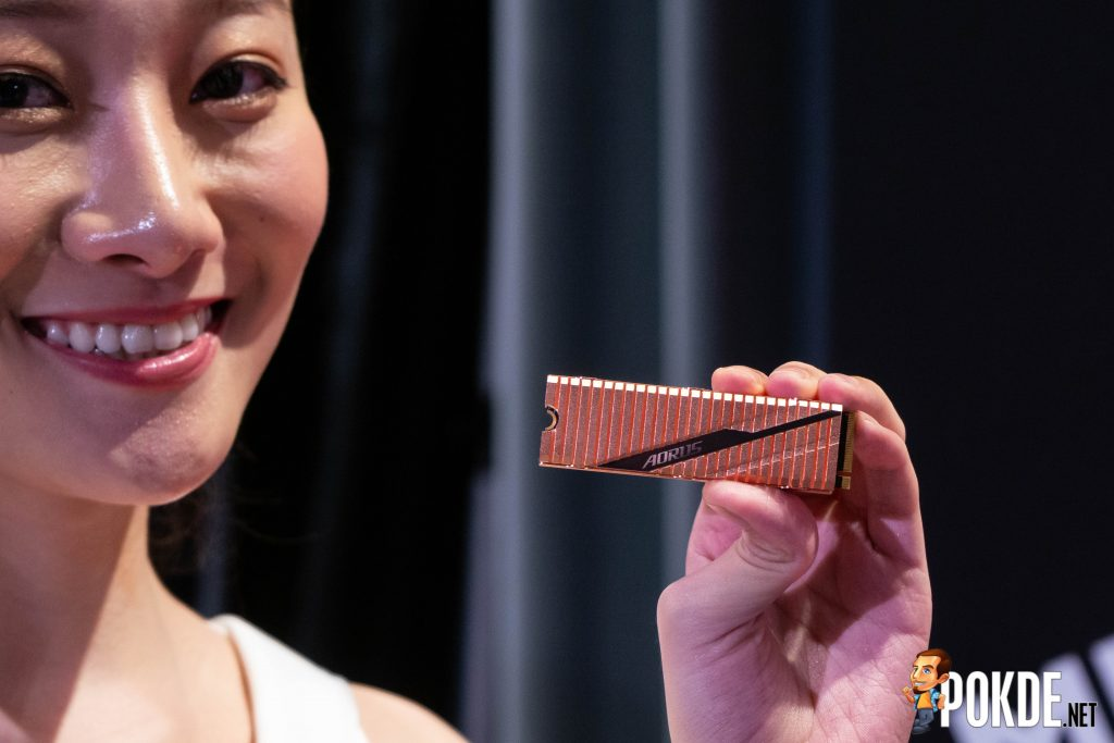 [Computex 2019] GIGABYTE unveils true 16-phase AMD X570 motherboard, PCIe 4.0 SSDs 29
