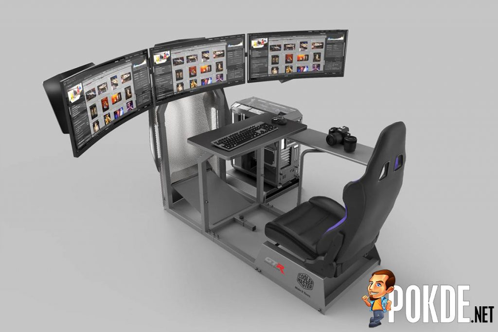 [Computex 2019] Cooler Master collaborates with GTR Simulator to bring the GTA-F Cooler Master Edition 24