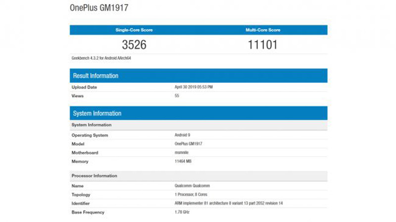 OnePlus 7 Pro's Benchmark Leaked — Could Be The Fastest Android Smartphone Yet 20