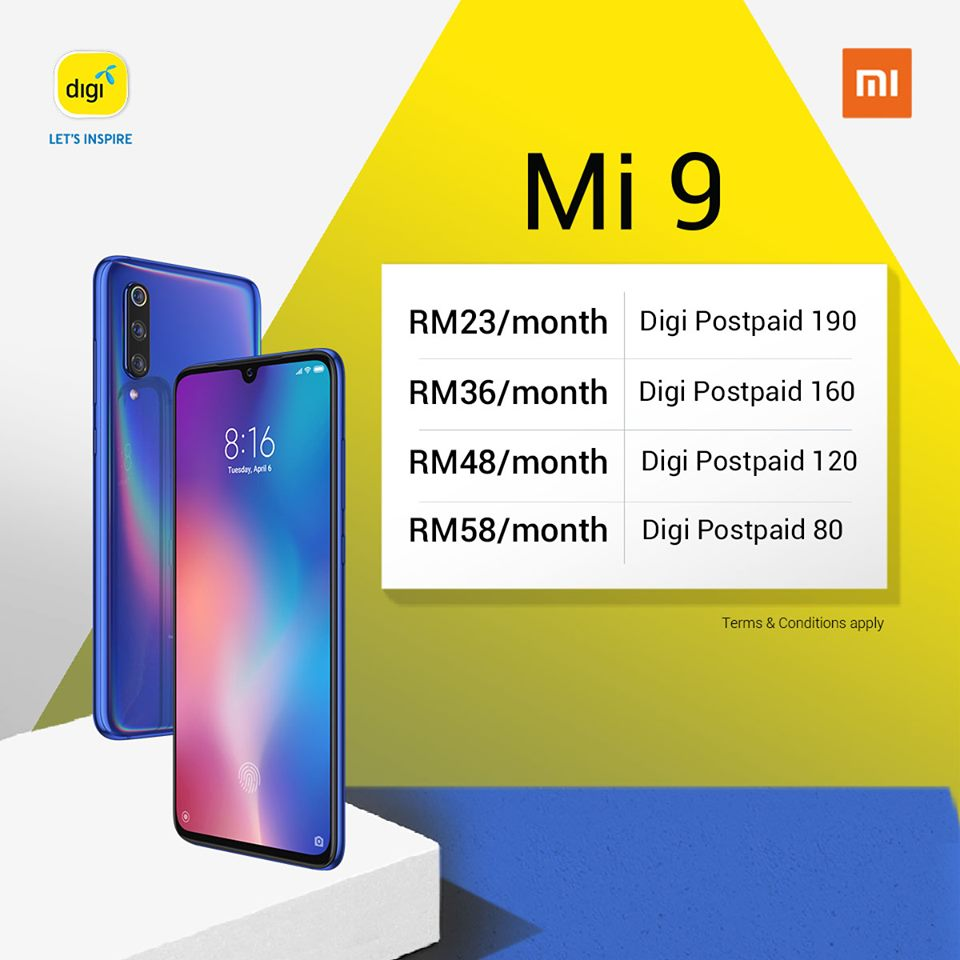 Xiaomi Mi 9 Now Available With Digi PhoneFreedom 365 Plan 21