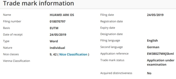 New HUAWEI Mobile OS May Be Called Ark OS Instead 26