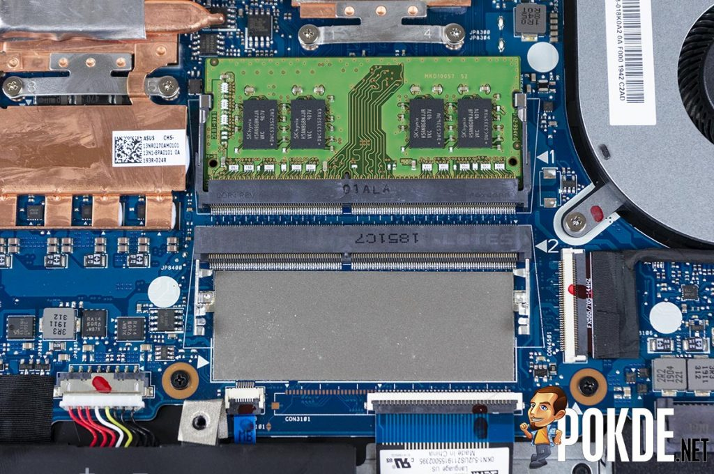 What can you upgrade in the ASUS TUF Gaming FX505D? 23