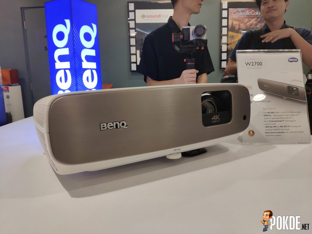 Meet BenQ's CinePrime W5700 And W2700 — World's First 4K HDR-Pro Home Cinema Projectors With DCI-P3 20