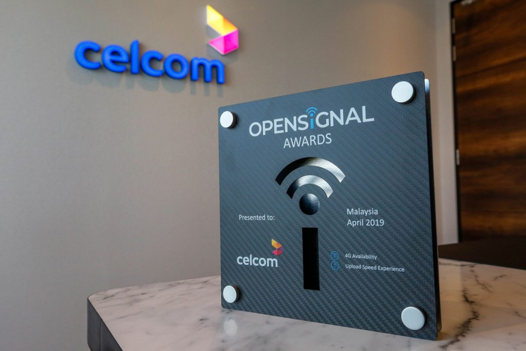 Celcom Receives 4G Availability Awards From Opensignal 22