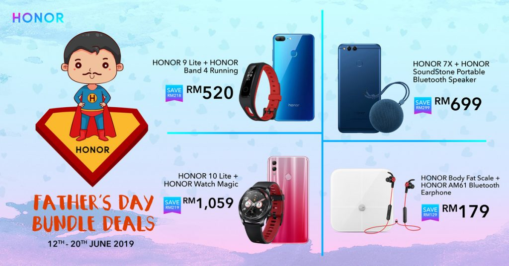 HONOR Offering Special Bundle Deals This Father's Day 25