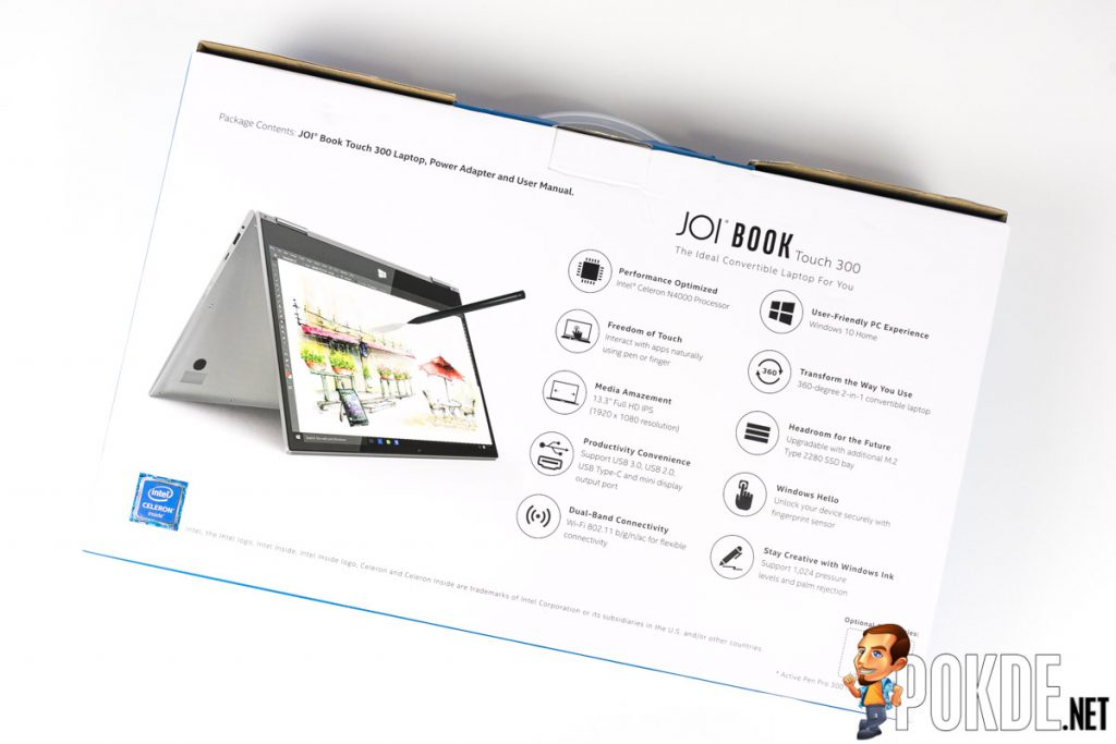 JOI Book Touch 300 Review — write, scribble, draw, sketch, type 21