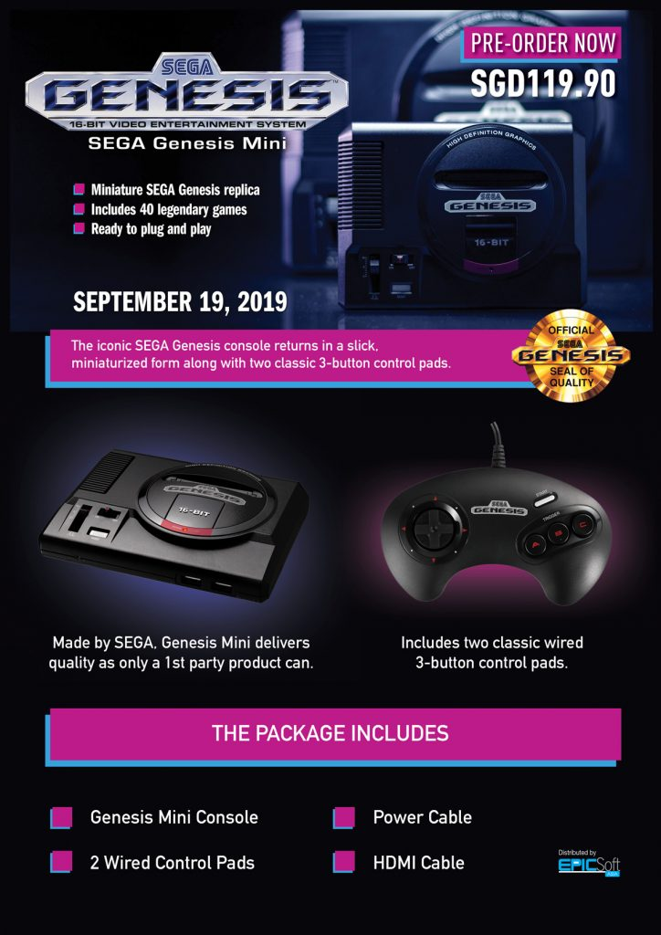 Sega Genesis Mini To Launch In Malaysia The Same Time As The Rest Of The World 23