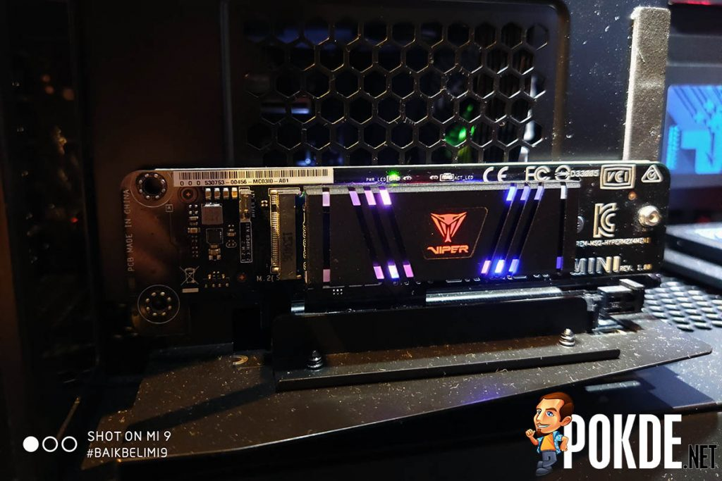 [Computex 2019] Patriot PCIe Gen4 x4 NVMe SSDs coming later this year — shuns RGB in favor of performance 26