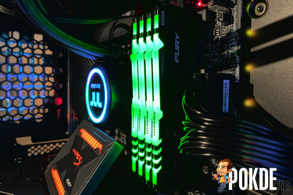 [Computex 2019] HyperX Fury DDR4 RGB with HyperX Infrared Sync showcased 24