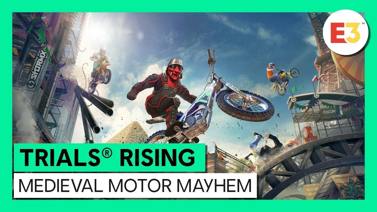 E3 2019] Trials Rising Season 2: Medieval Motor Mayhem Launched – Pokde