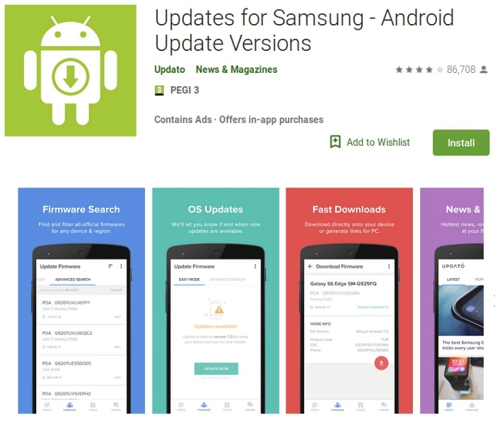 This Updates for Samsung App is Fake and Dangerous