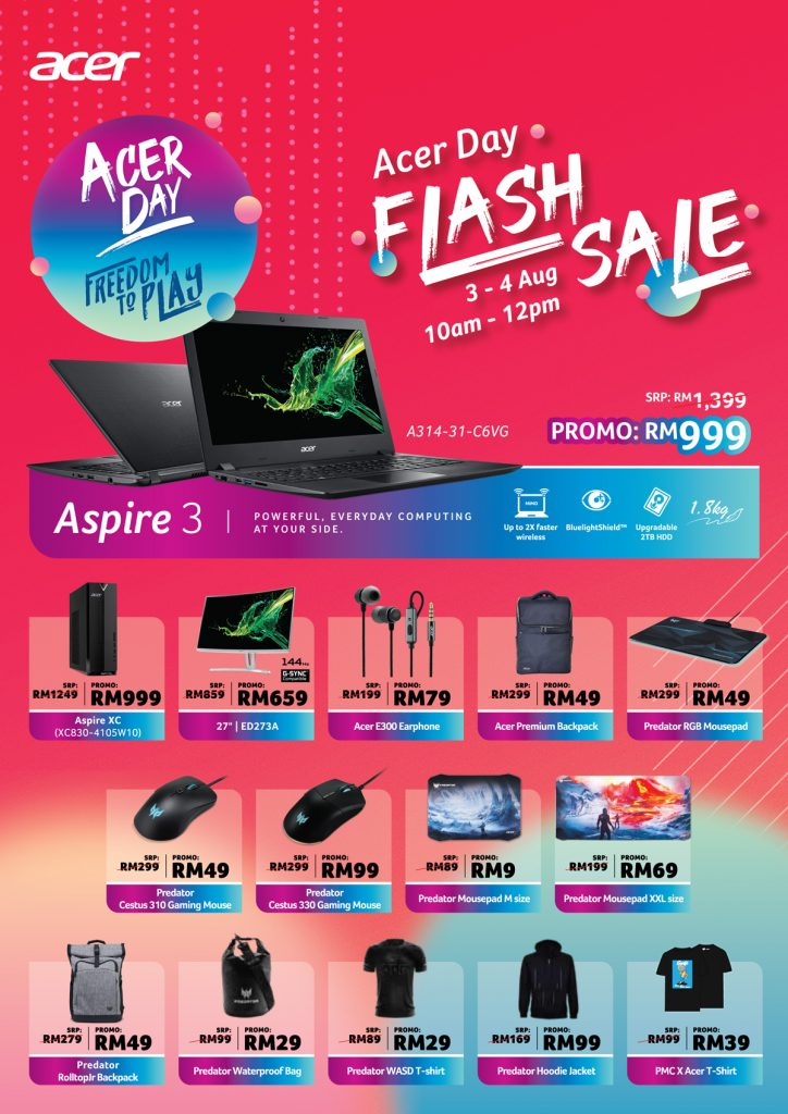 Deals That You Should Look Out For This Acer Day Roadshow 2019! 30