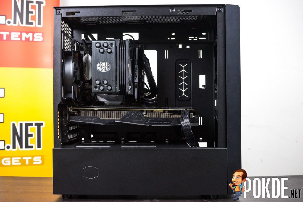 Cooler Master NR400 with ODD Review — a clown car of a case! 35