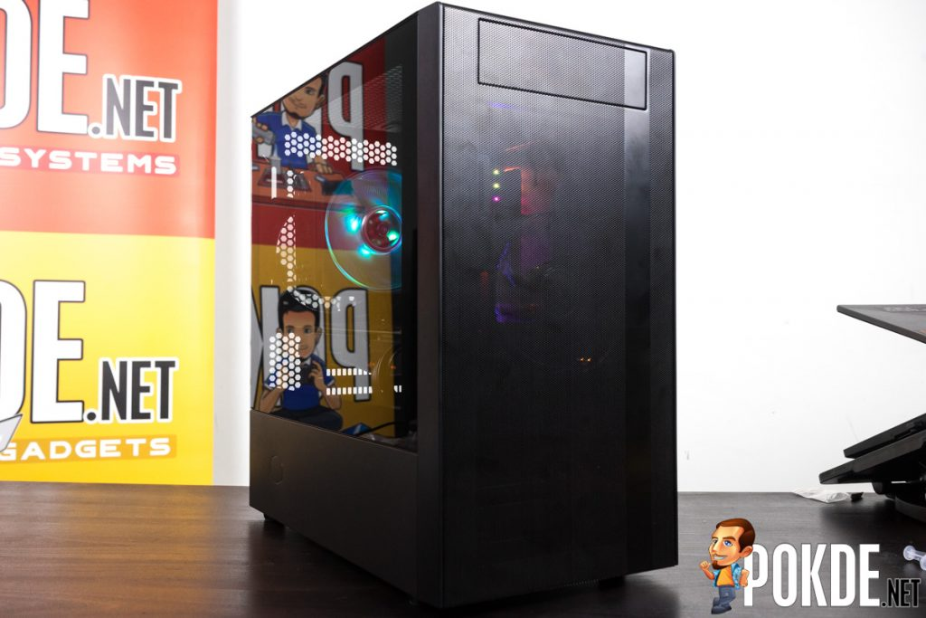 Cooler Master NR400 with ODD Review — a clown car of a case! 39