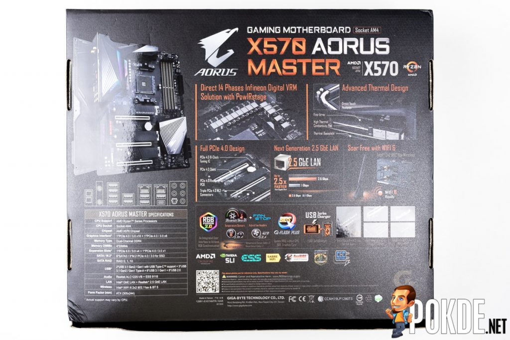 GIGABYTE X570 AORUS Master Review — the board that puts its pricier peers to shame 23