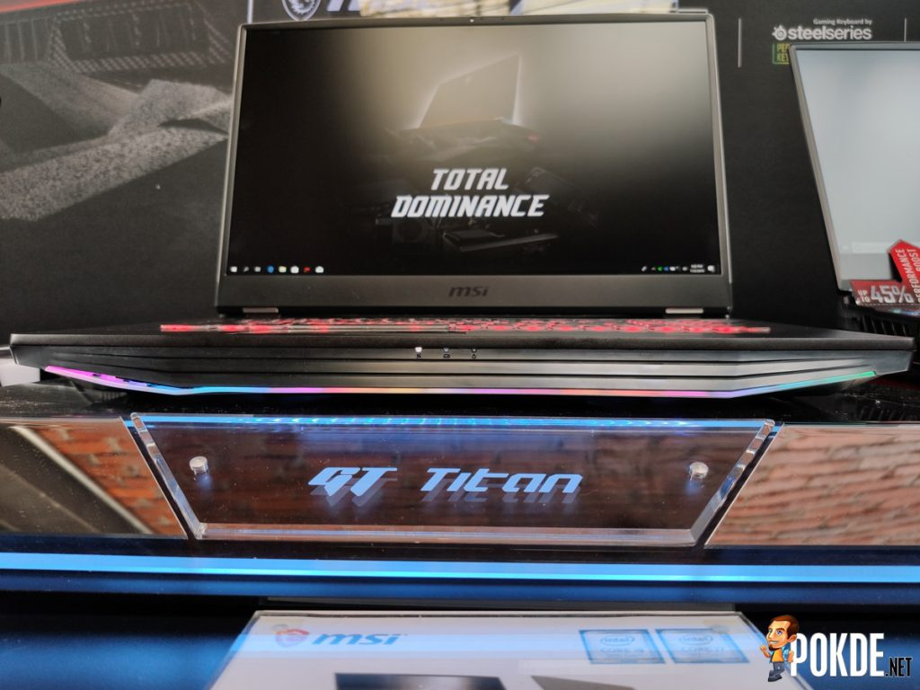 MSI Launches ESPORTS: The Rise of the New King — Introduces GT76 Titan And GE65 Raider Gaming Laptops 17