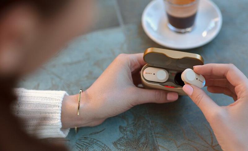 Sony Introduces New WF-1000XM3 True Wireless Headphones 22