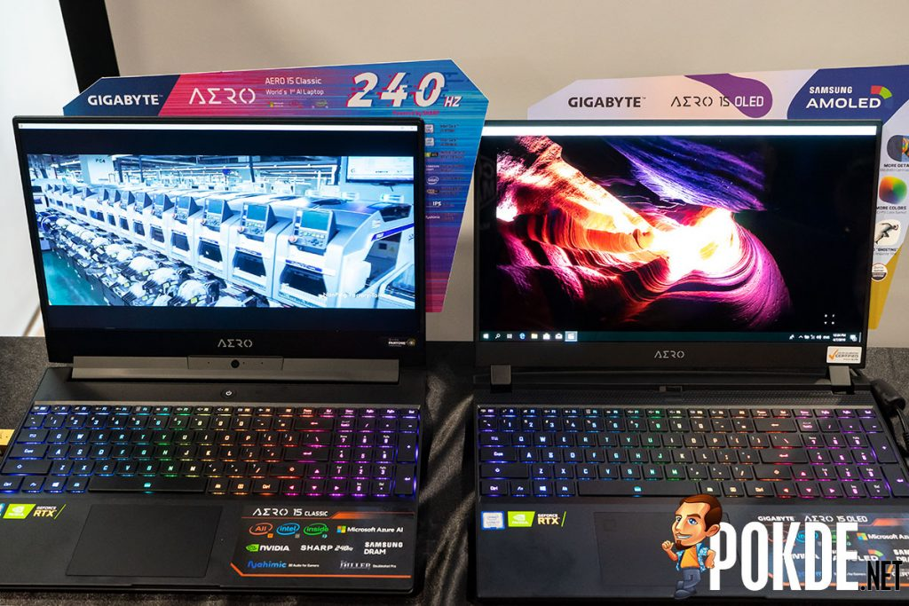 GIGABYTE caters to Malaysian gamers and creators with AORUS and AERO laptops 22