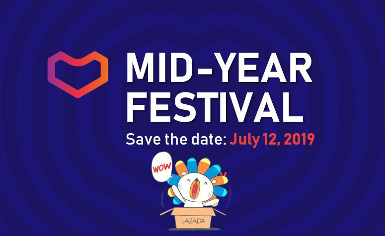 Lazada Mid-Year Festival 2019 Coming with Up to 50% Discounts and New In-App Features 21