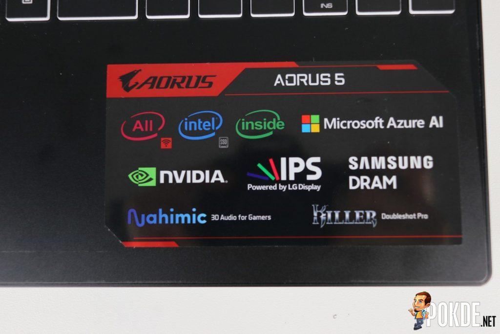 GIGABYTE AORUS 5 NA Gaming Laptop Review 34
