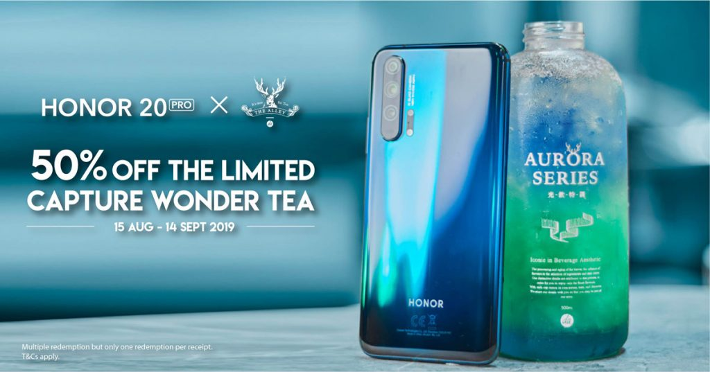HONOR Malaysia Teams Up With The Alley In Launching Limited Edition Drink 24